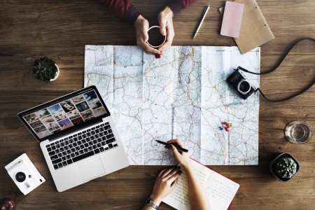 College student travel planning