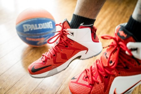 spalding, basketball, shoes
