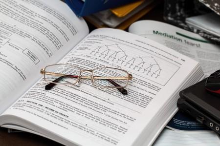 study, books, grad school test