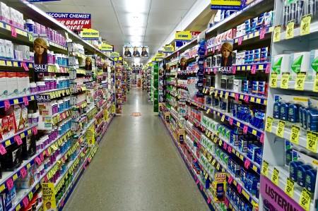 supermarket, store, shopping, toiletries
