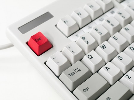 keyboard, escape button, keys, computer