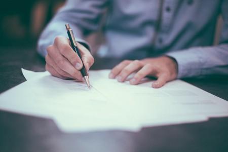 job, employee, employer, paper, pen