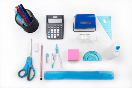 school, supplies, pencil, pen, scissors, eraser