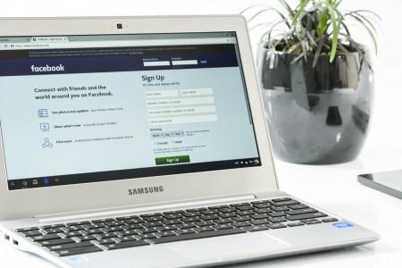 computer, laptop, facebook, social media,